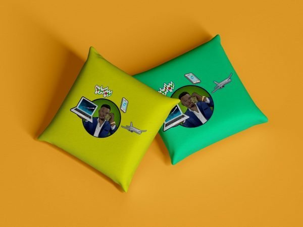 trader j pillow
