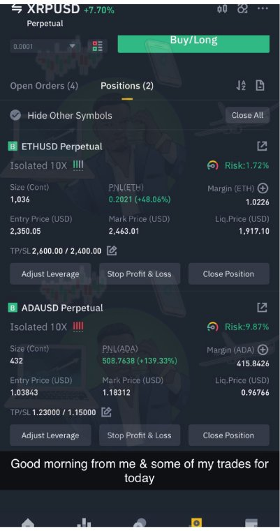 TRADER J cryptocurrency services results 2